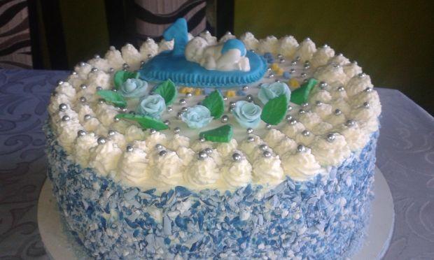 Tort na roczek dla Oliwiera