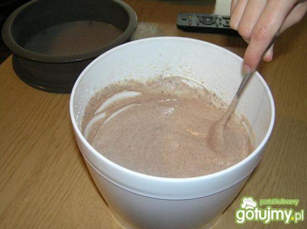 Tort orzechowo-kakaowy