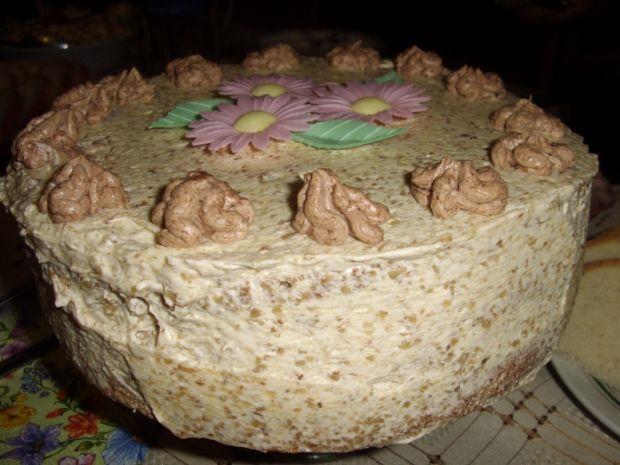 Tort orzechowy na moje 30 urodziny