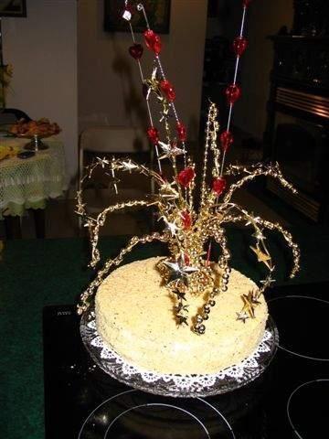 Tort Orzechowy - permutacja świąteczna