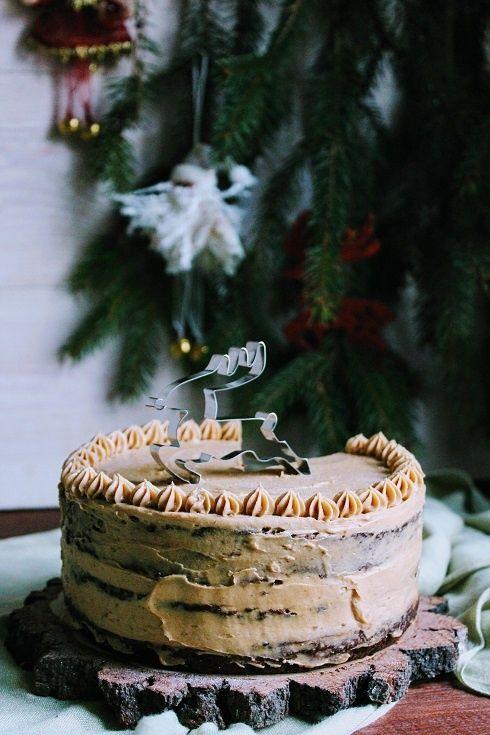 Tort piernikowy z dynią i kremem Speculoos