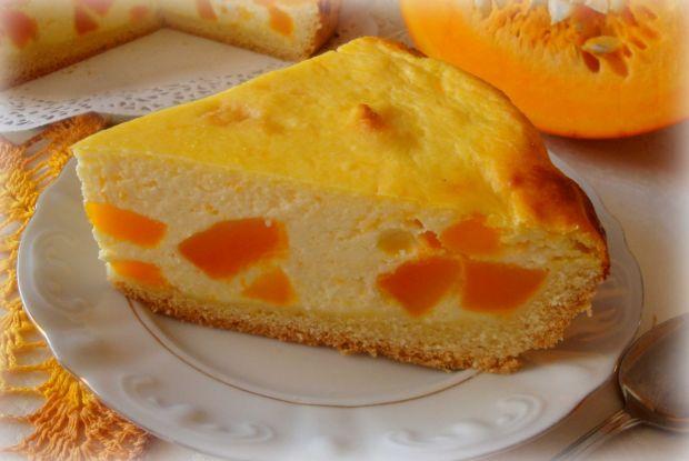 Tort sernikowy z dynią