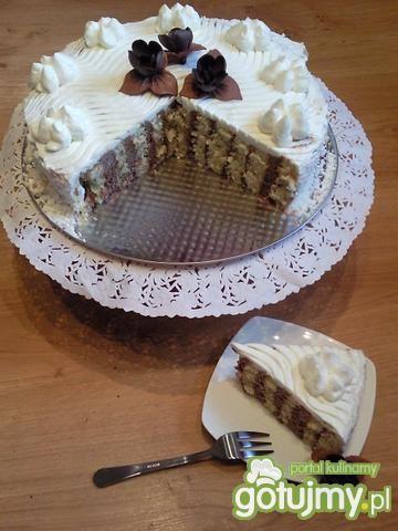 Tort śmietankowo – czekoladowy
