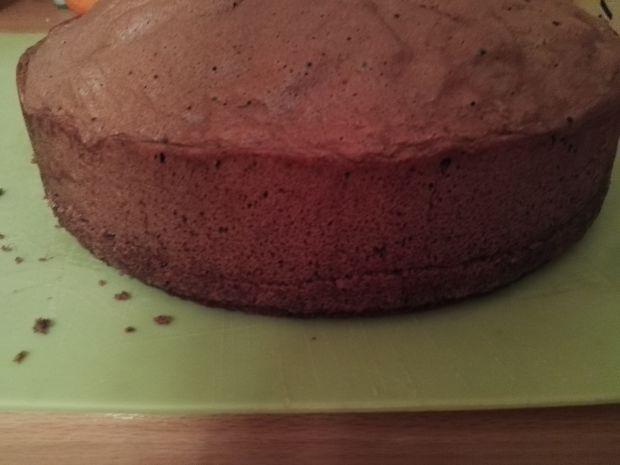 Tort śmietanowy z pomarańczową nutą