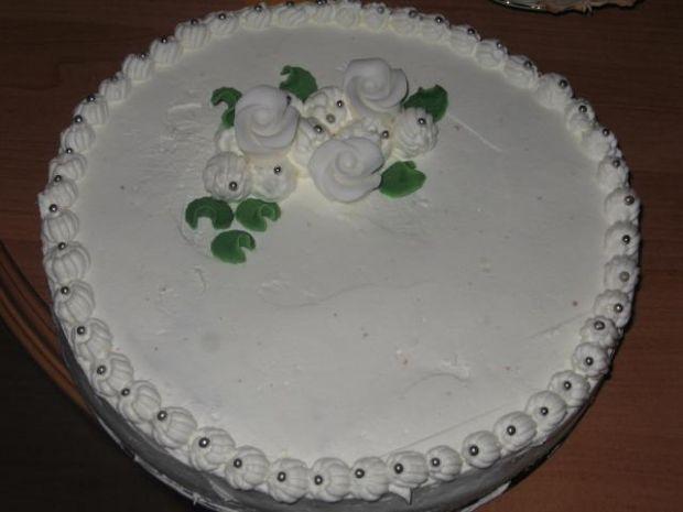 tort śnieżynka