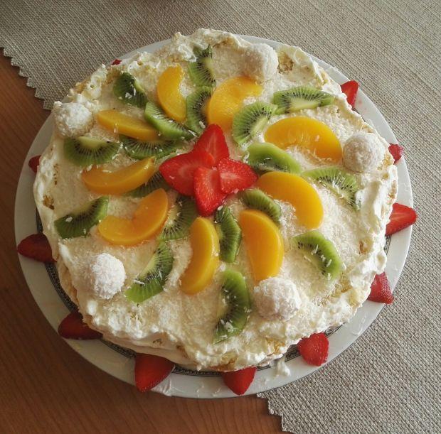 """Tort """"Tropikalne marzenie"""""""