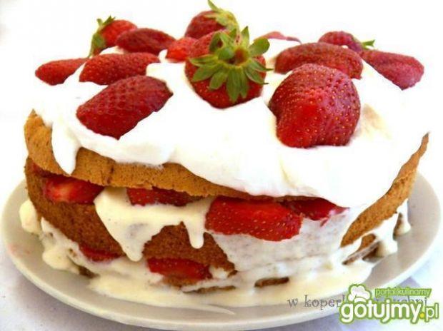 Tort truskawkowy według Koper