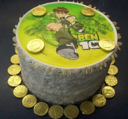 Tort urodzinowy BEN10