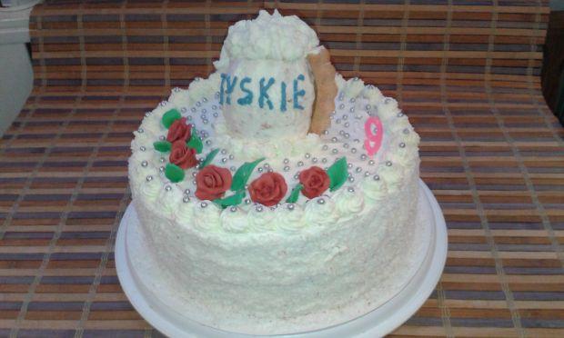 Tort urodzinowy dla męża,
