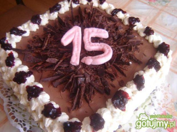 Tort urodzinowy mojej córki