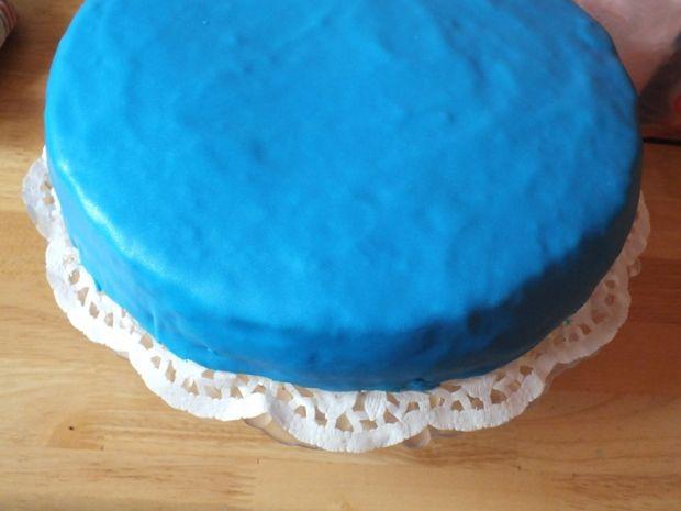 Tort urodzinowy ocean