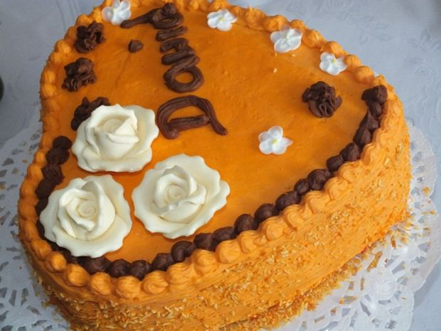 Tort urodzinowy serce