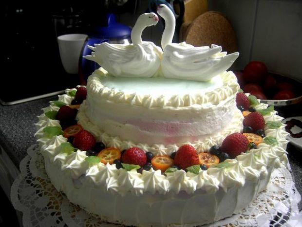 Tort weselny PREMIERA Glumandy