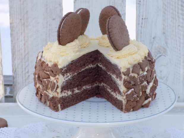 Tort z ciasteczkami Hit