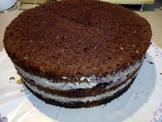 Tort z ciasteczkami oreo