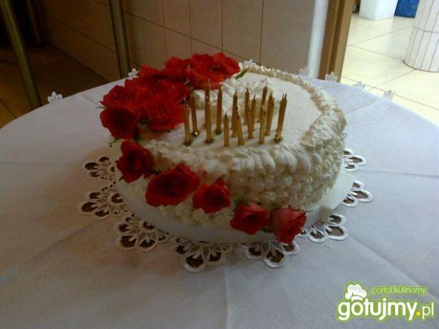 Tort z Nutellą