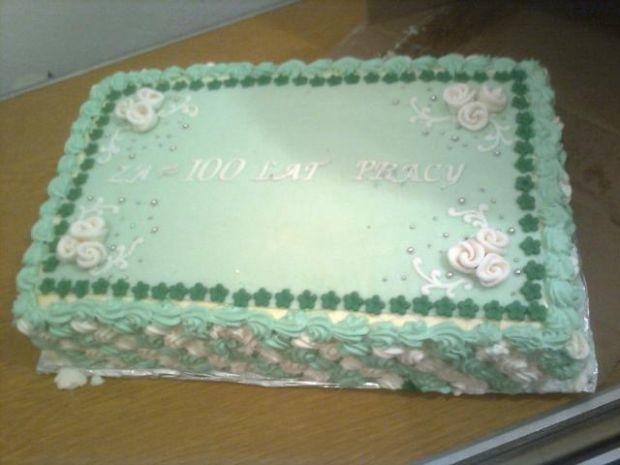 Tort za wieloletnią pracę