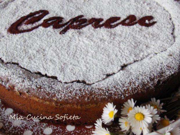 Torta Caprese- Ciasto caprese