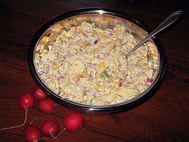 Tortellinowa sałatka grillowa