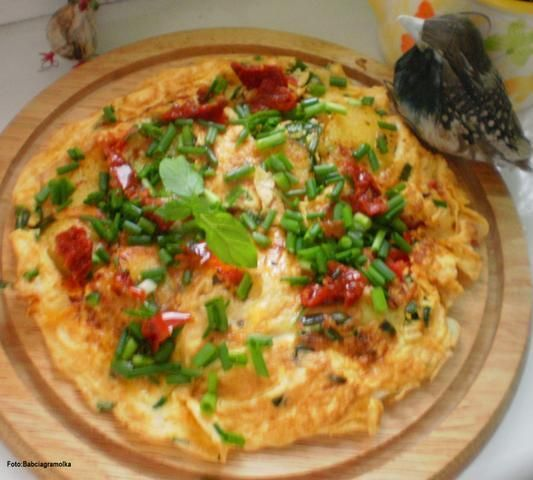 Tortilla de patatas w wersji Buni :
