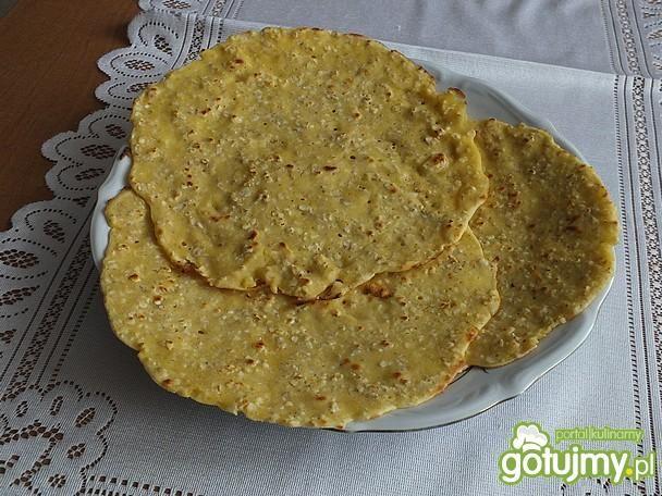 Tortilla jęczmienno - kukurydziana