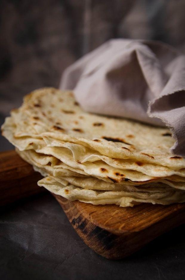 Tortilla - przepis podstawowy