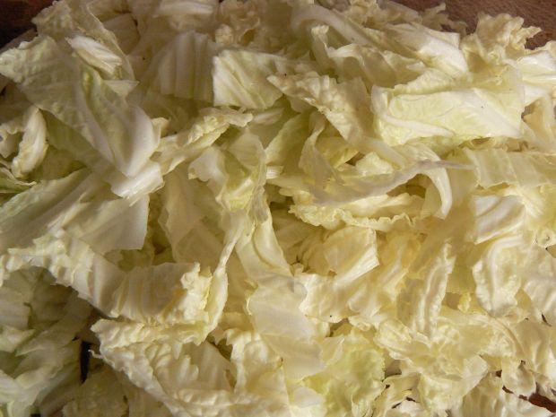 Tortilla z piersią z kurczaka