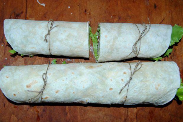 Tortilla z truskawkami