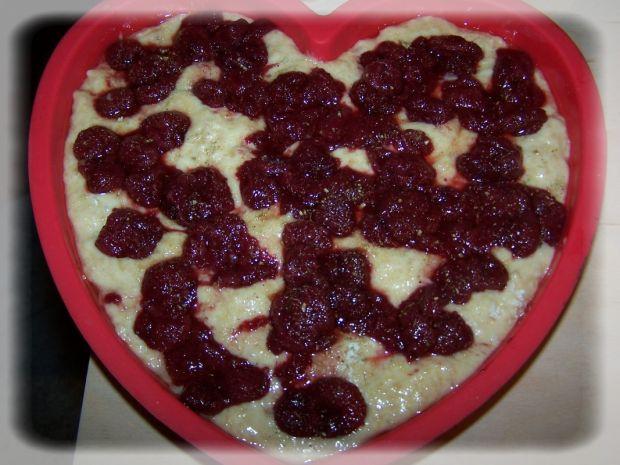 Truskawkowe serce na Walentynki