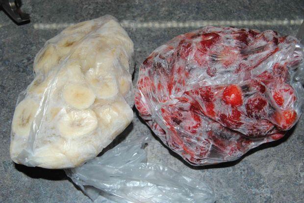 Truskawkowo- bananowe lody