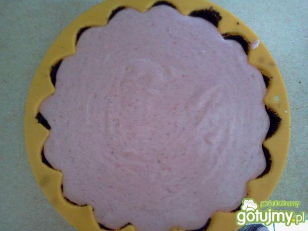 Truskawkowo-kremowa tarta