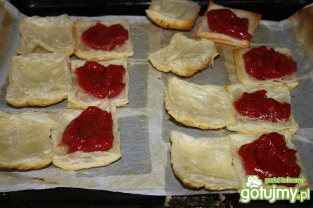 Truskawkowo - śmietankowe ciasteczka
