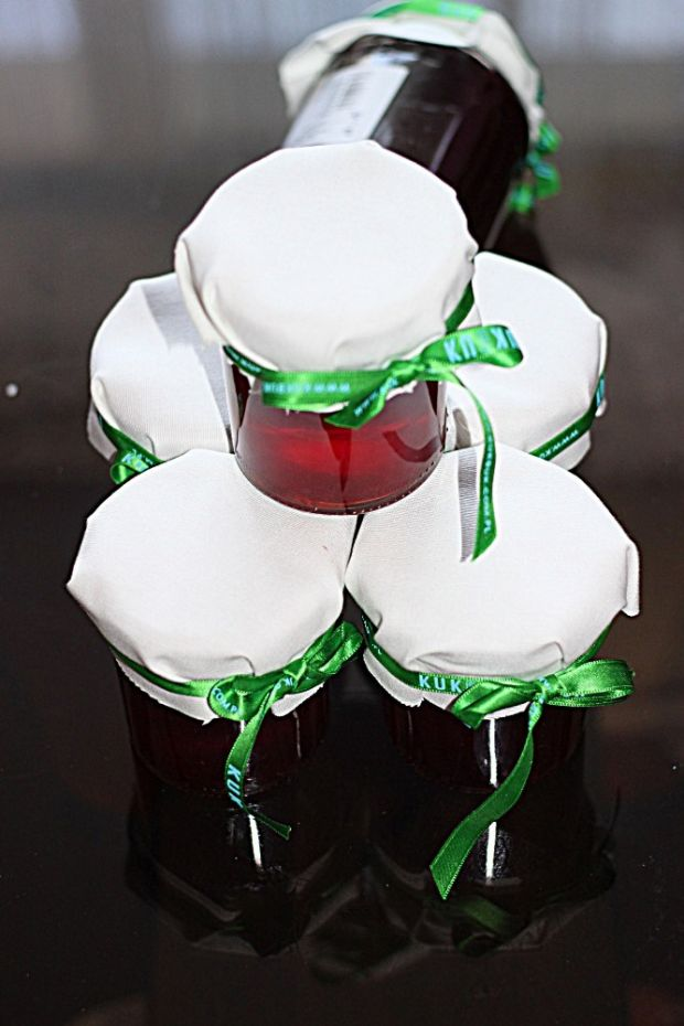 Truskawkowy sok z sokownika
