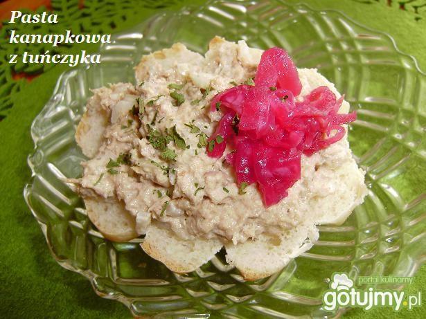 Tuńczykowa pasta do kanapek
