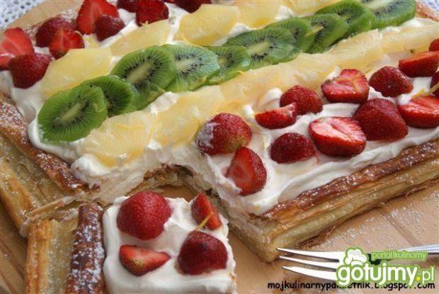 Tutti frutti - ciasto z owocami
