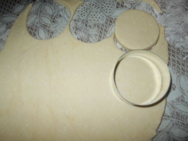 Twarogowe pogacze z serem