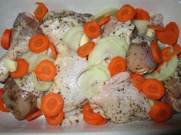 Udka kurczaka po prowansalsku