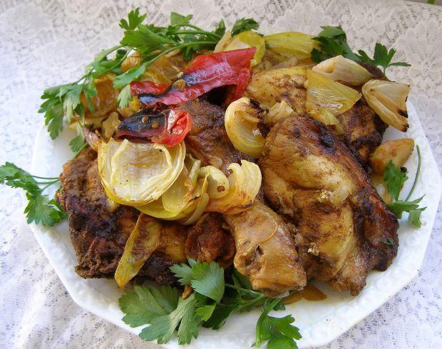 Udka kurczaka z rękawa