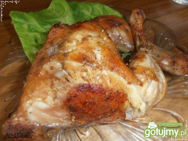 Udka kurczaka z winem