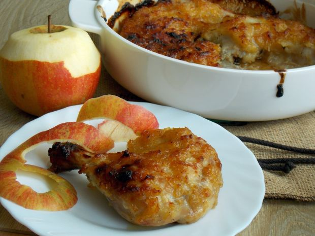 Udka pod jabłkową pierzynką