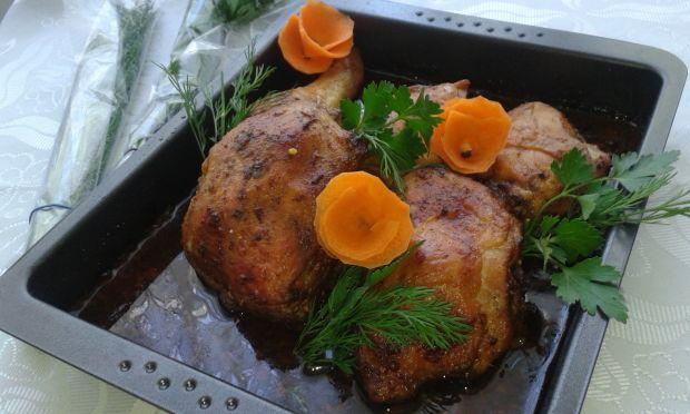 Udka z kurczaka pieczone lub grilowane
