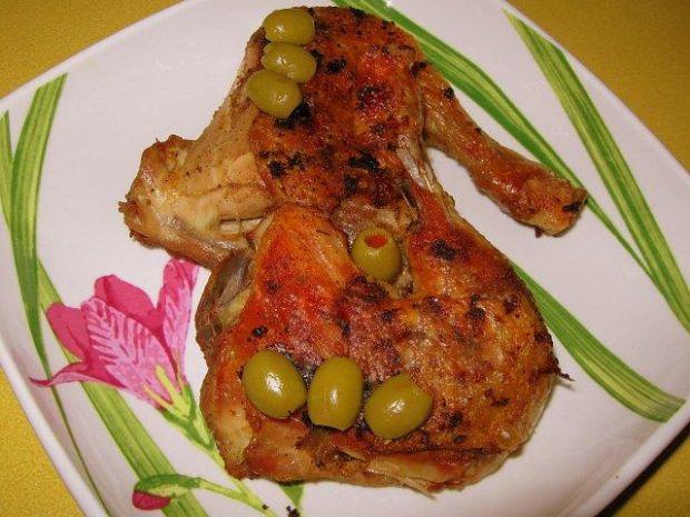 Udka z kurczaka przyprawiane podskórnie