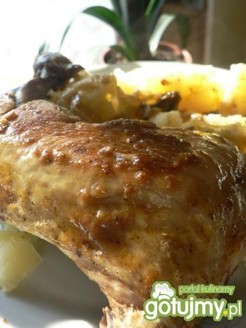 Udka z kurczaka  wg Gieni