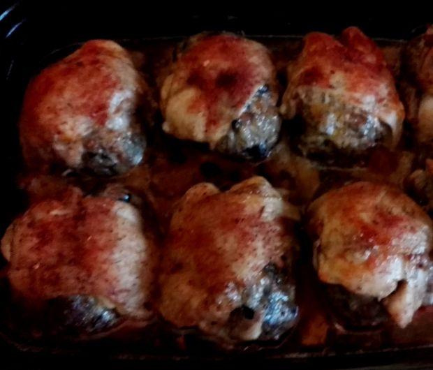 Udka z mięsem mielonym i grzybami