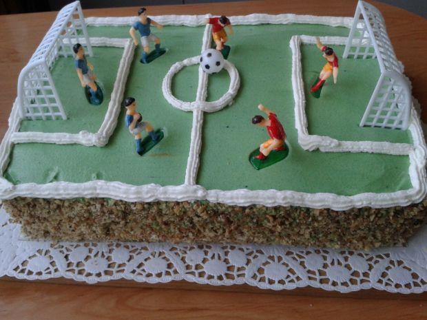 Urodzinowy torcik dla trenera piłki nożnej
