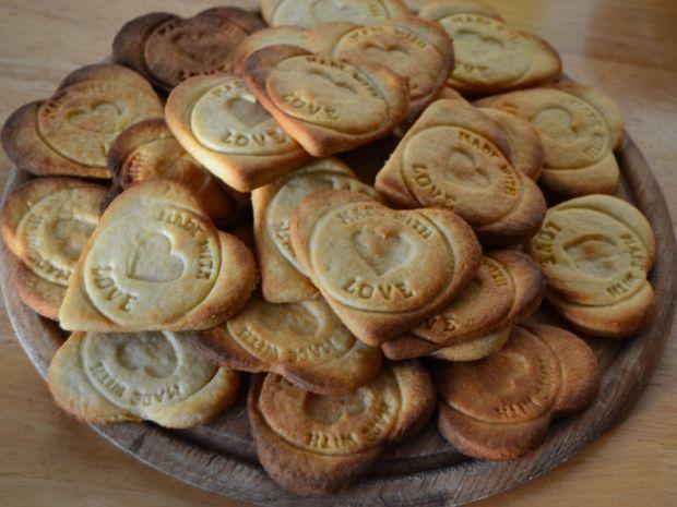 Walentynkowe ciasteczka orkiszowo - cytrynowe