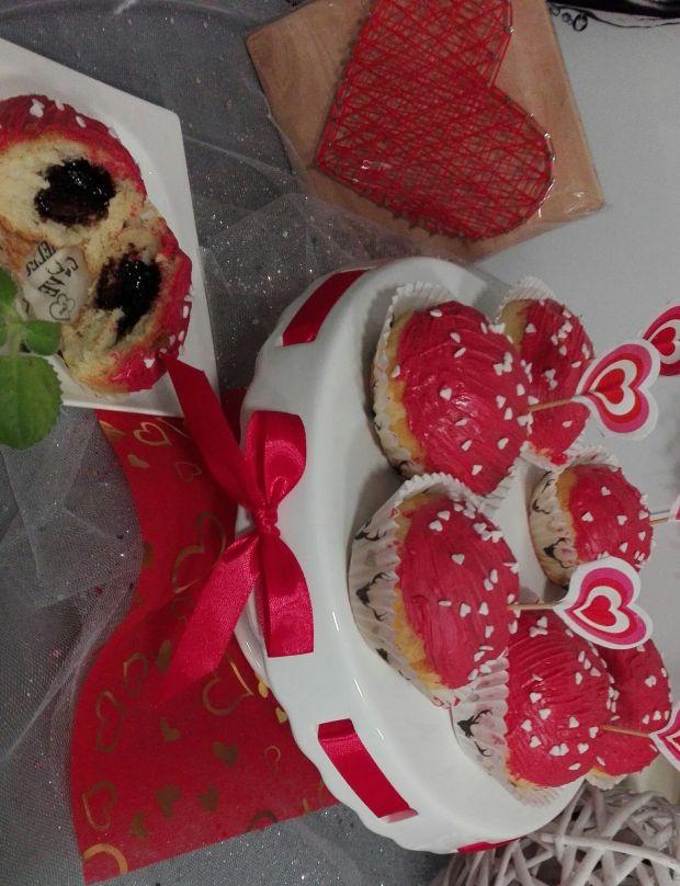 Walentynkowe pączusie z piekarnika