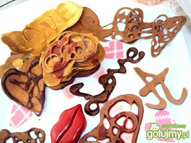 Walentynkowe pancakes