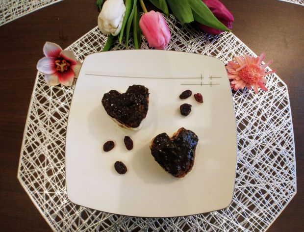 Walentynkowe serduszka a'la bounty