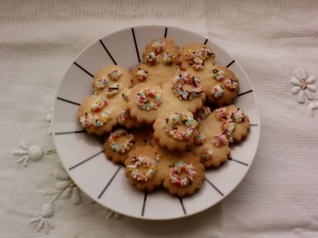 Waniliowo cytrynowe ciasteczka